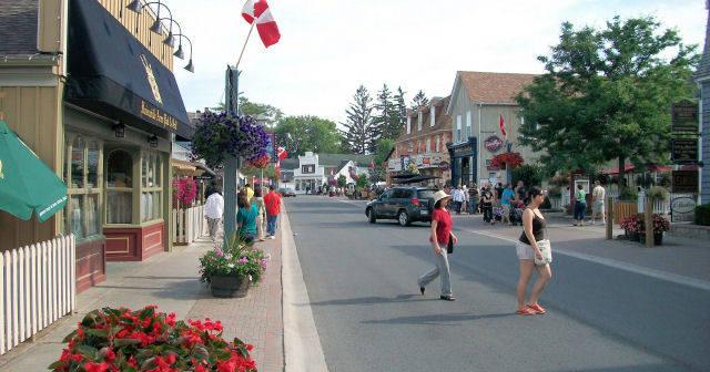 Main Street Unionville Town Of Markham Ontario Canada